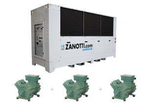 CM-B Condensadora multicompresor Bitzer