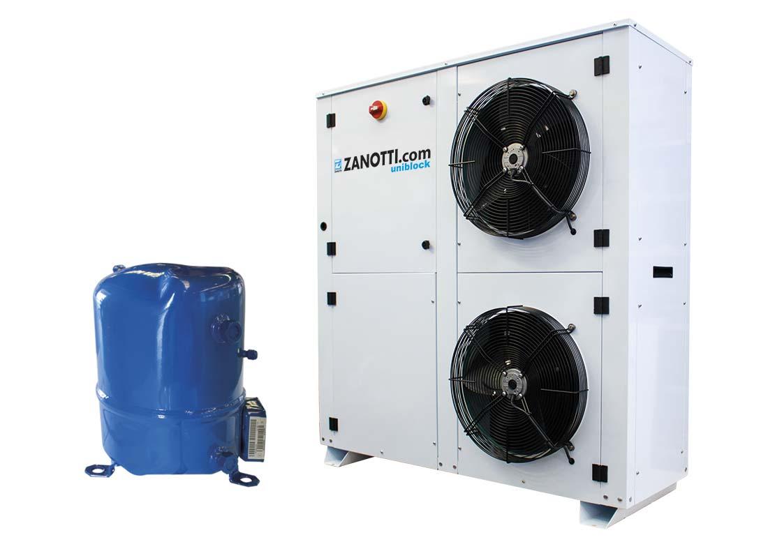 Unidad condensadora hermética CU-H con compresor Maneurop