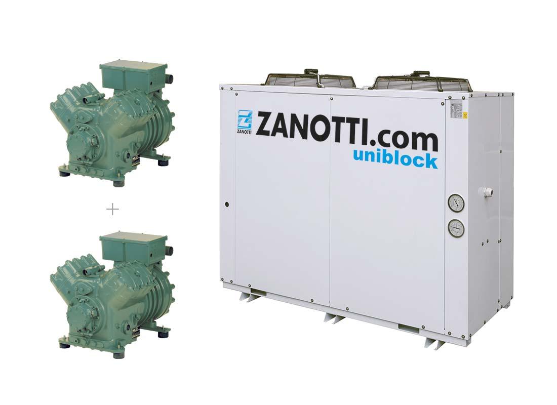Unidad condensadora Twin Bitzer CU-L