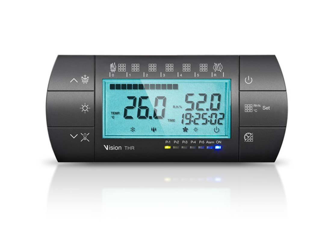 C24 VISION Control electrónico de temperatura y humedad