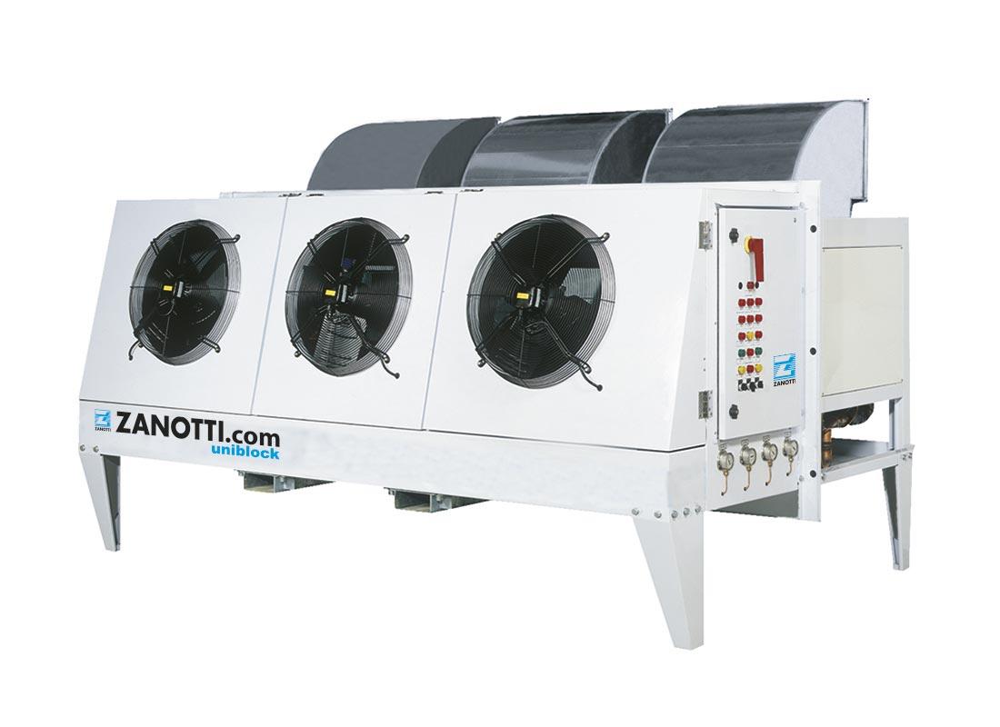 BX equipos compactos pared exterior Zanotti