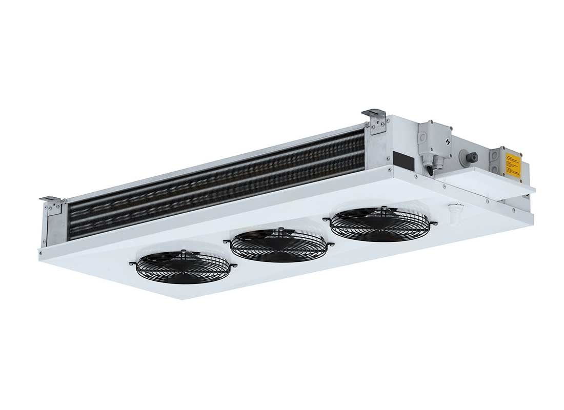 Evaporador de doble flujo para equipo partido de frío