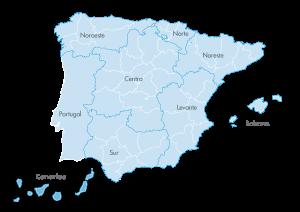 Mapa de zona Zanotti appliance en Canarias