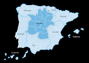 Mapa de zona Zanotti appliance Centro