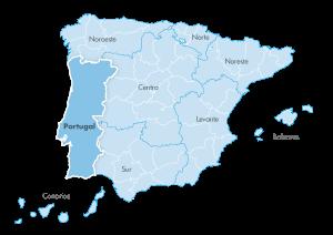Mapa de zona Zanotti appliance Portugal
