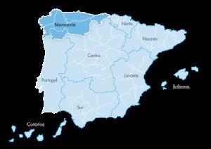Mapa de zona Zanotti appliance noroeste