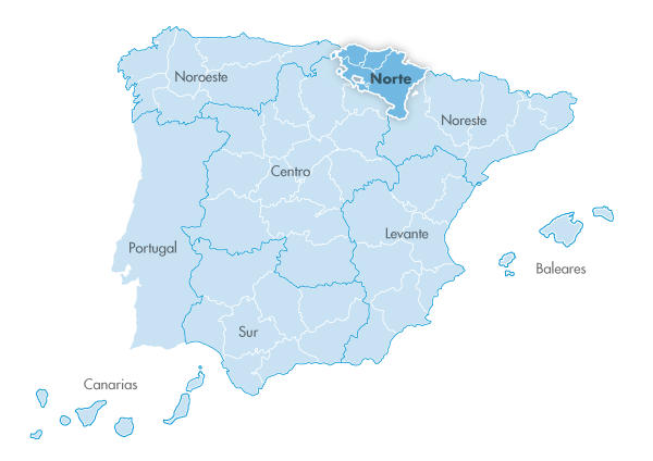 Mapa de zona Zanotti appliance norte
