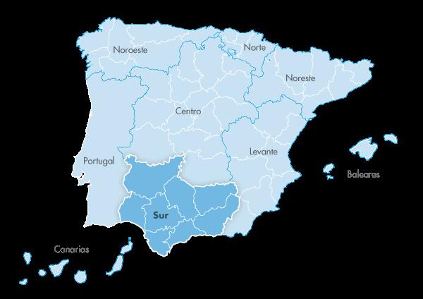 Mapa de zona Zanotti appliance sur