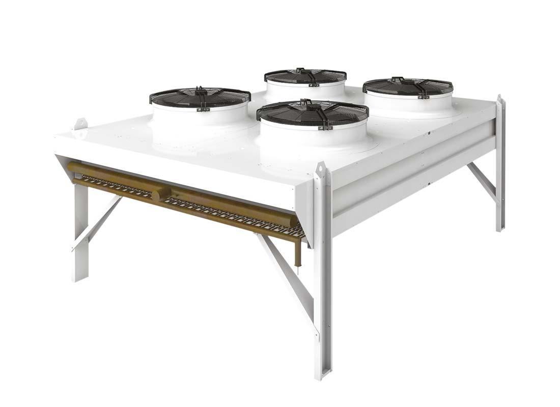Condensadores industriales Zanotti serie CND-AS