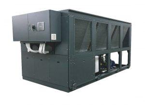 Enfriadora Chiller R290 para evaporadores de Glicol
