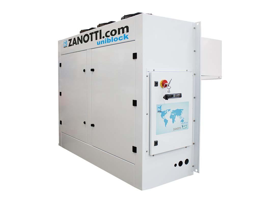 ZW CO2 monoblock equipos compactos en Ciclo Transcrítico