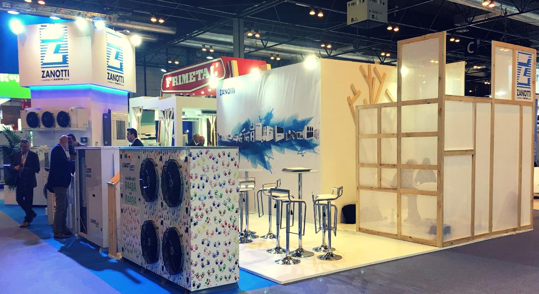 Stand Zanotti Appliance en la Feria de Climatización 2017