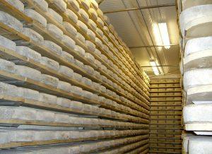 Almacenamiento y refrigeración de quesos