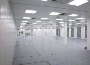 Higienización del aire para clean rooms
