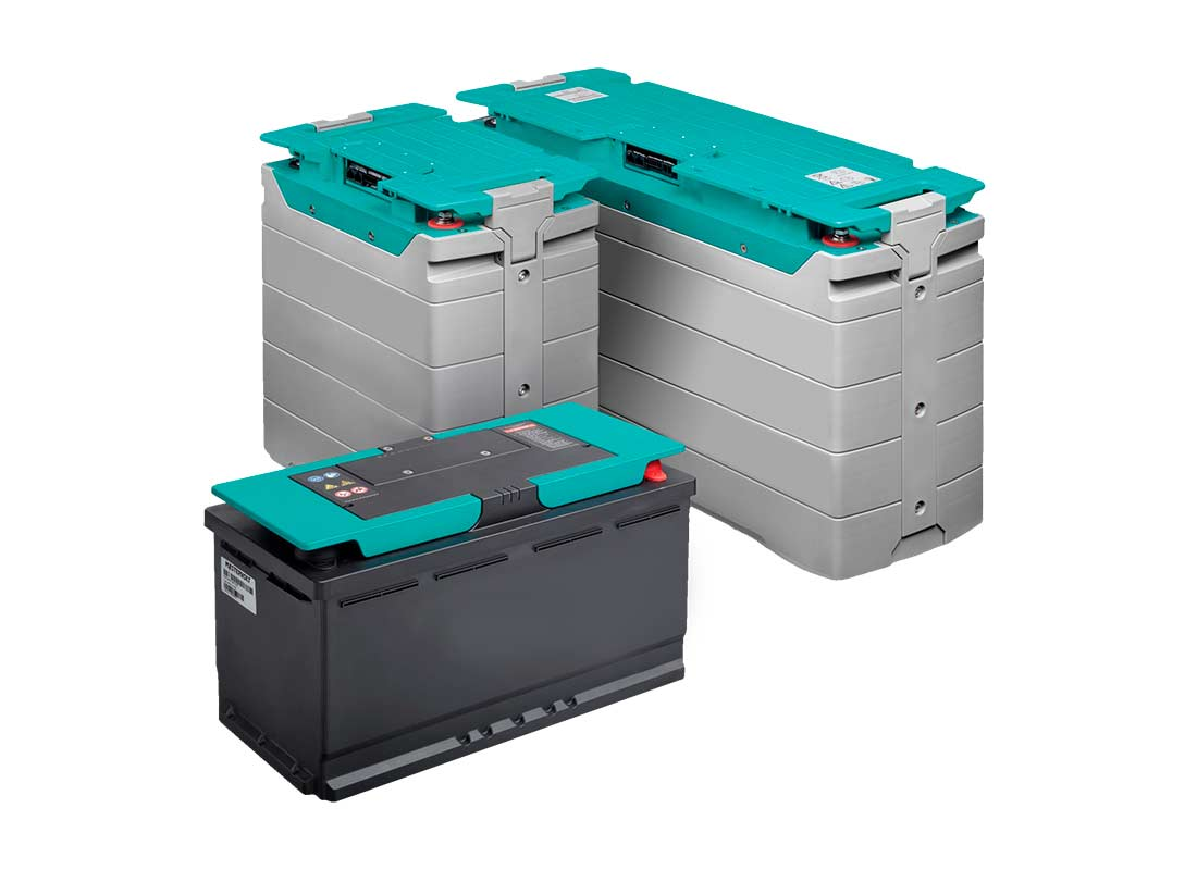Conjunto de baterías para equipo a batería autónomo Zanotti