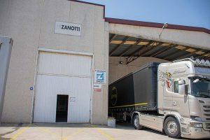 Área de distribución Zanotti Appliance