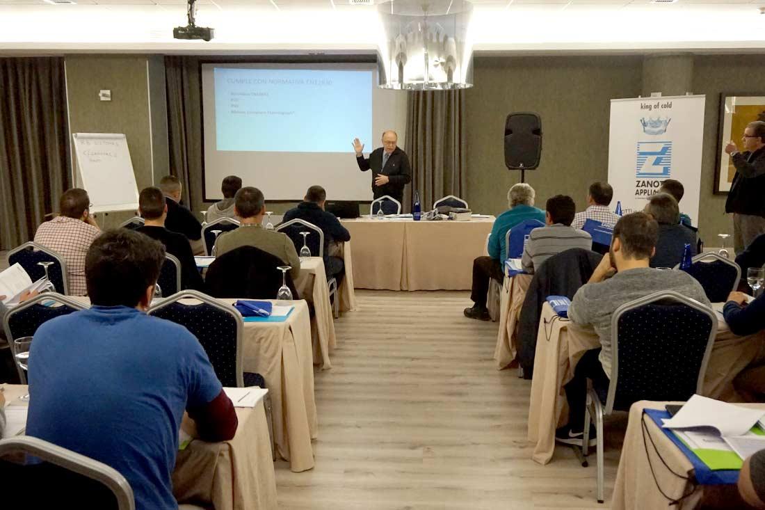 Jornadas de Formación Zanotti en Madrid