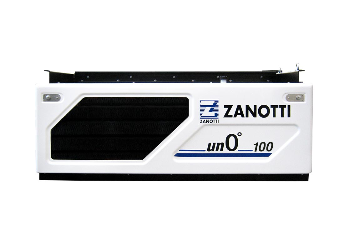 Condensadora Serie Unoº 100U equipo diésel bajo chasis vista frontal