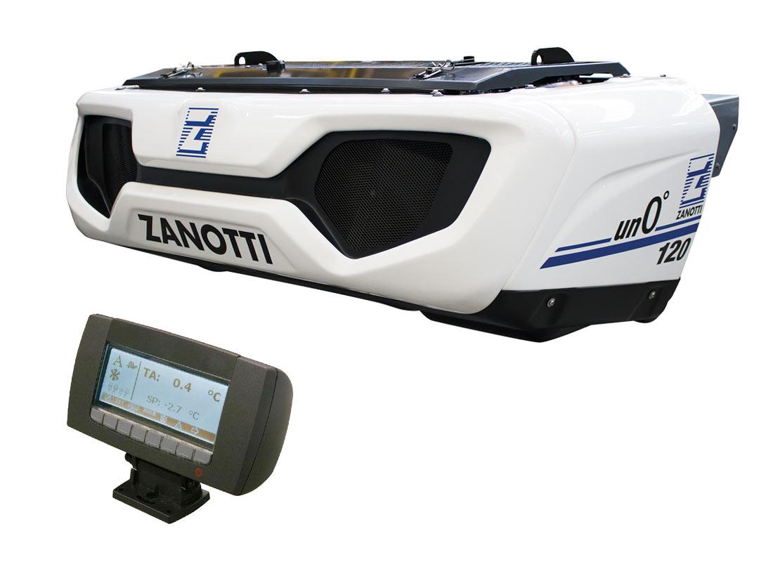 Sistema de refrigeración móvil diésel Un0º120