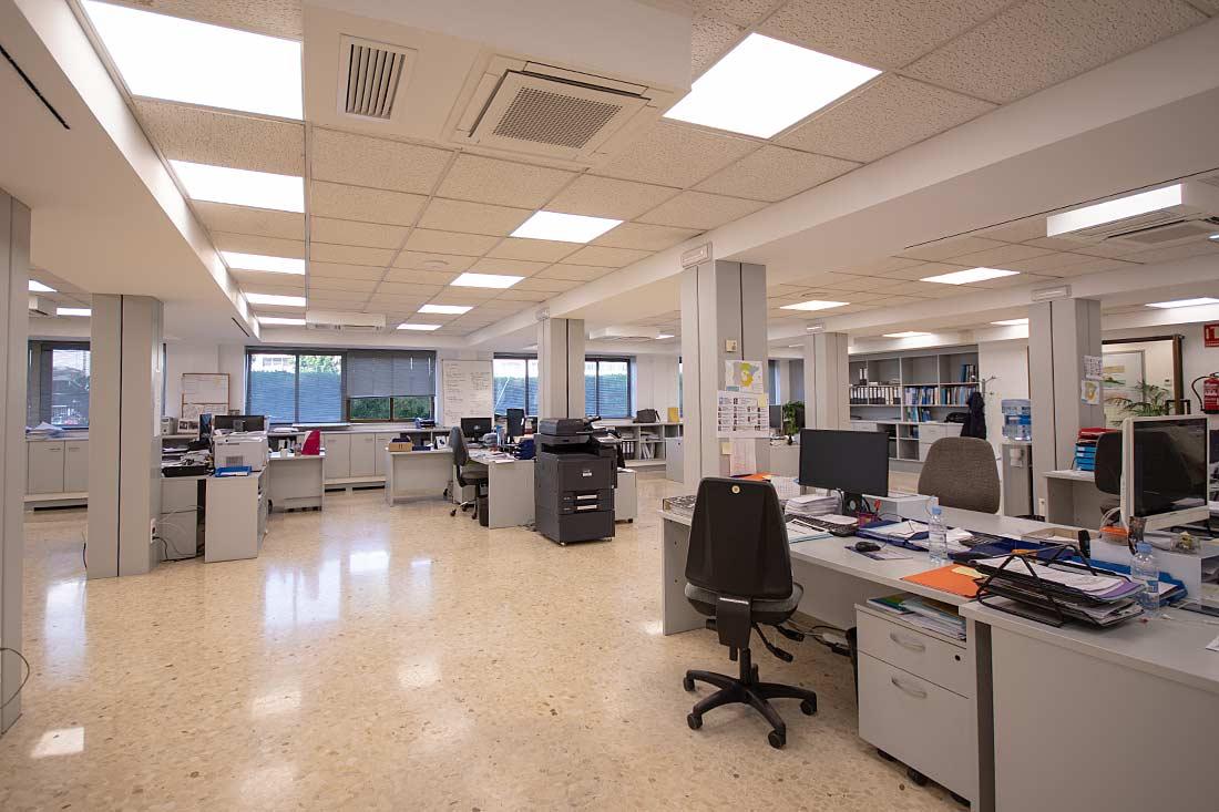 Área del departamento comercial Zanotti Appliance