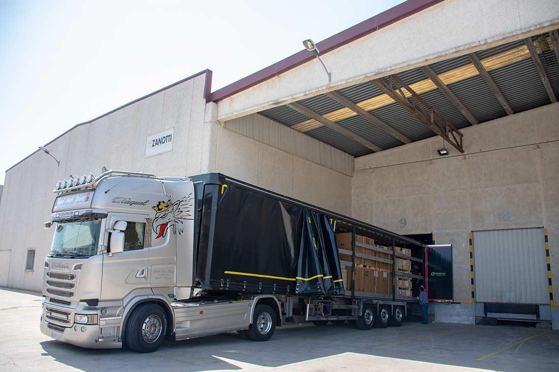 Centro de logística Zanotti Appliance