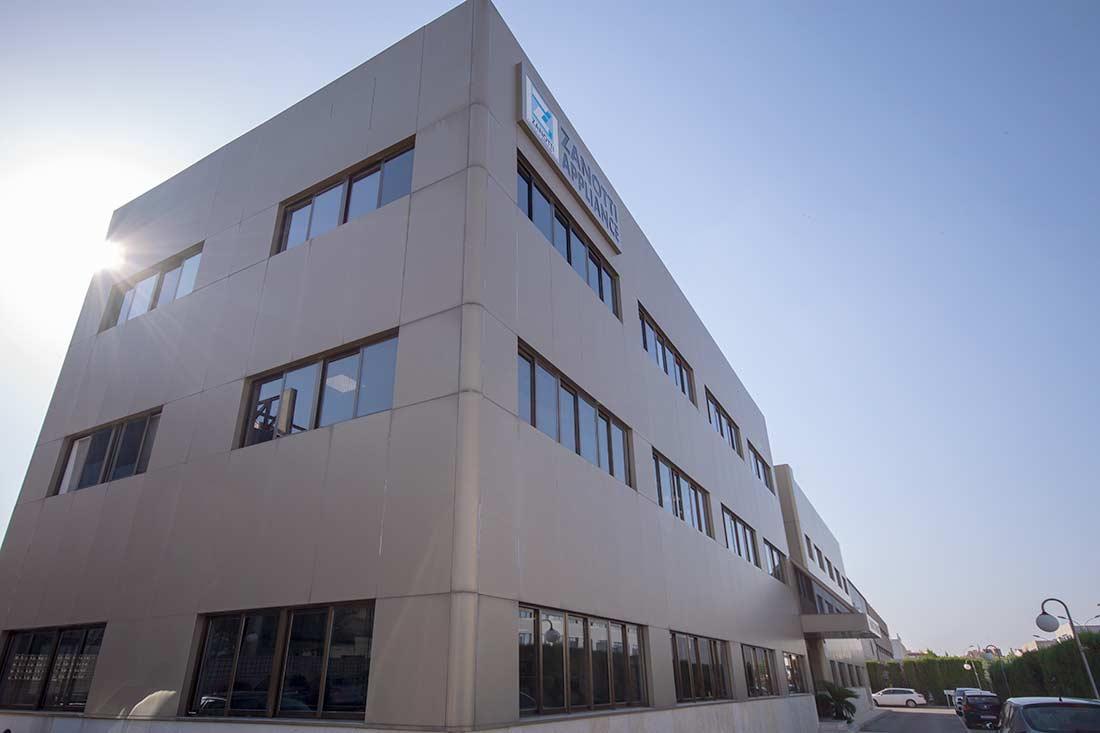 Panorámica edificio Zanotti en Valencia