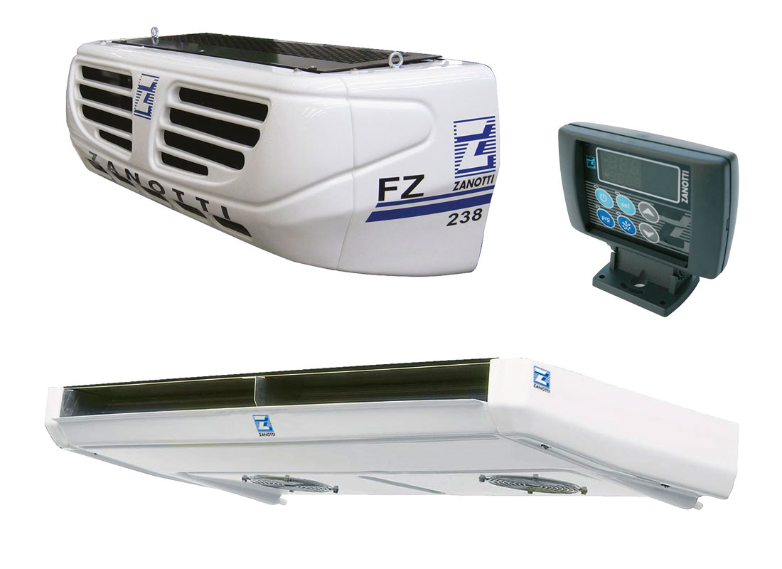 FZ238 equipo partido para refrigeración de camiones