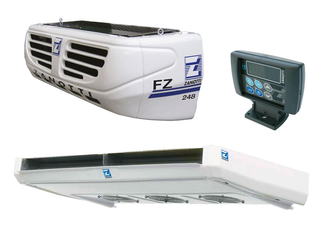 FZ248 equipo partido para camiones refrigerados