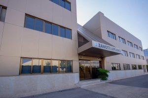 Fachada y acceso al edificio Zanotti Appliance