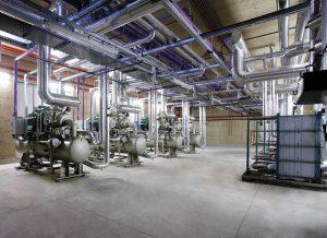 Centrales frigoríficas para la refrigeración industrial
