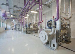 Instalación industrial para refrigeración de pescado