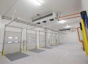 Muelle de carga refrigerado para empresa de catering