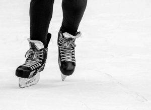 PIsta de hielo para patinaje artístico y competiciones