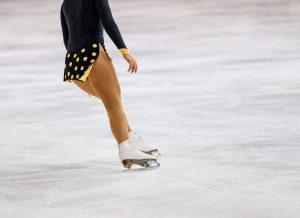 Pista de patinaje artístico sobre hielo