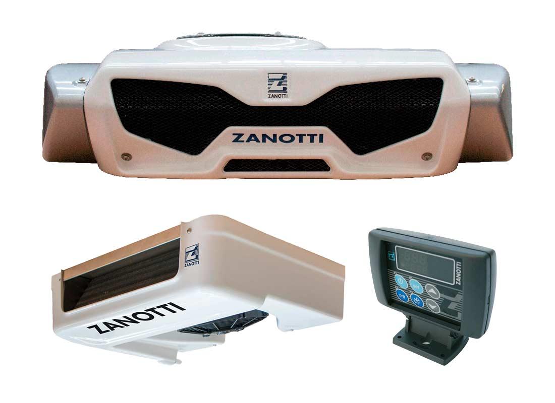 Refrigeración para furgonetas con Equipo de batería Z120B