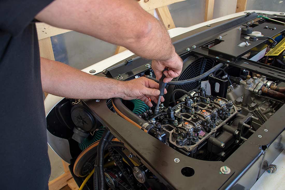 Reparación y mantenimiento de equipo Transblock