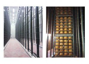 Salas de curación y refrigeración de quesos