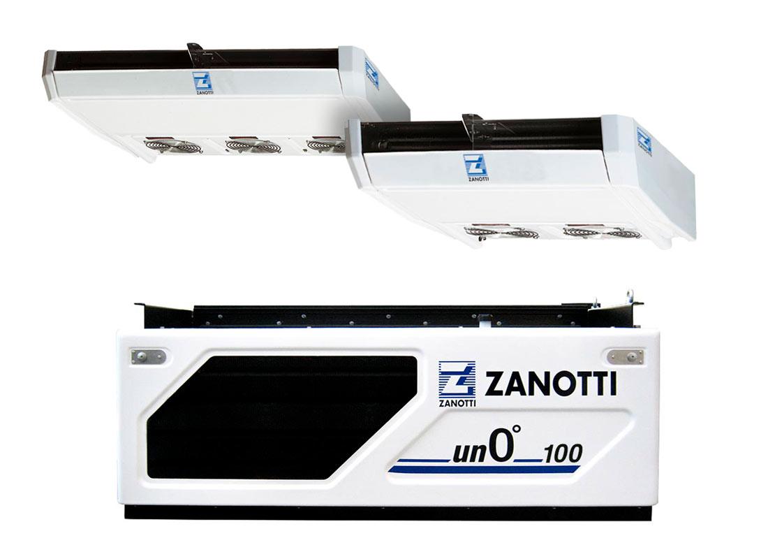Serie Unoº 100U refrigeración diésel bajo chasis