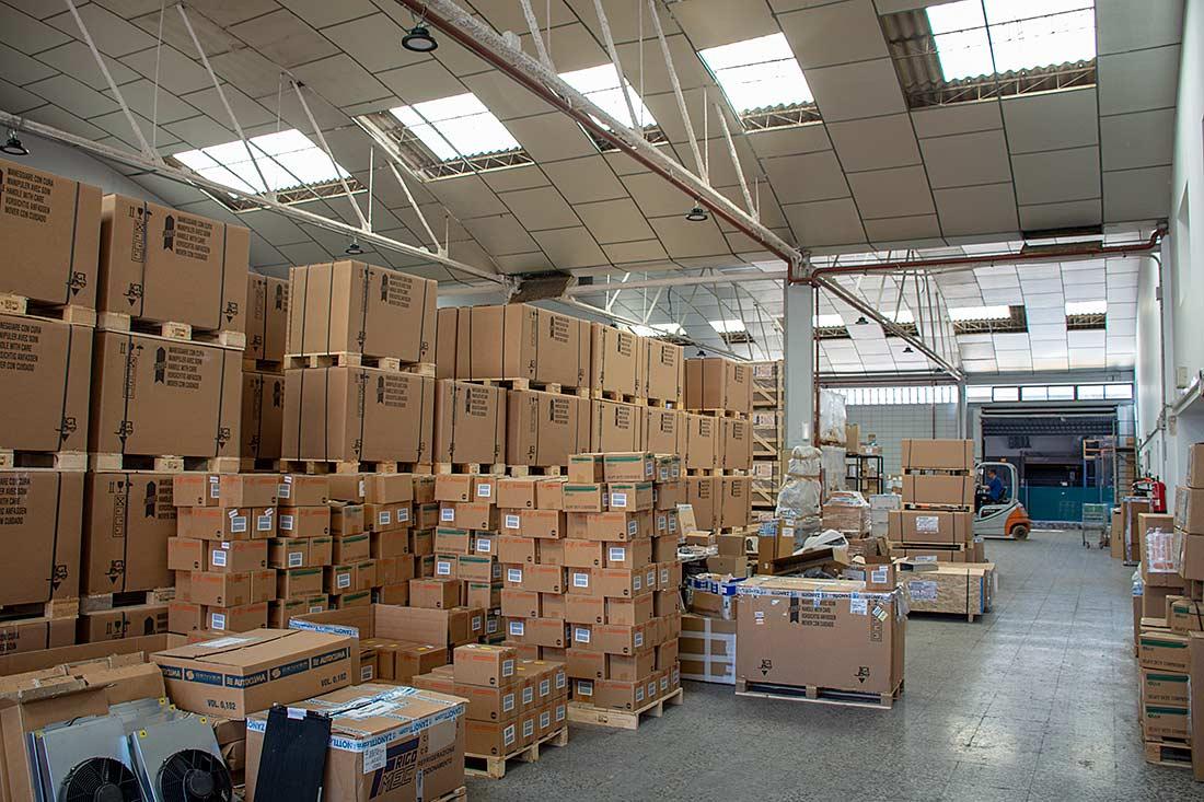 Zona de almacén en Zanotti Appliance Vara de Quart
