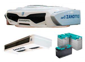 Refrigeración para furgonetas con equipo a batería de litio Z120B