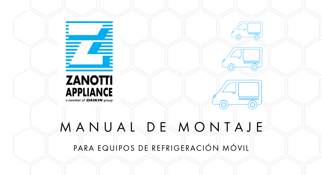portada del manual de equipos de refrigeración de equipos de transporte