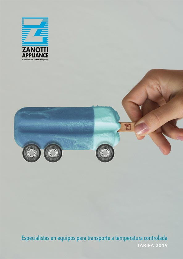Catálogo de transporte Zanotti Appliance 2019