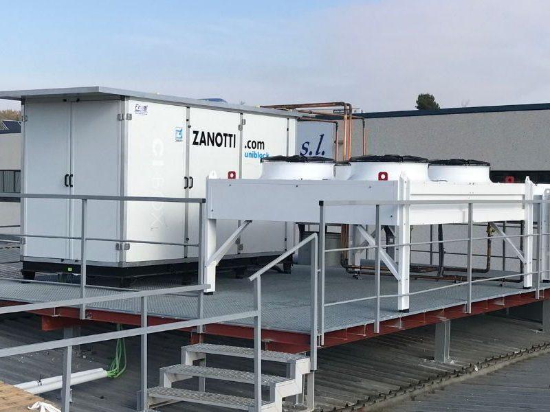 Túnel de congelación -35 grados Zanotti