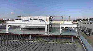 unidad condensadora Zanotti para túnel de congelados