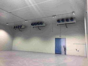 Una de las salas frías de la empresa aeronáutica Sofitec