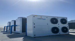 Cuatro condensadoras Zanotti instaladas en el tejado de empresa aeronáutica