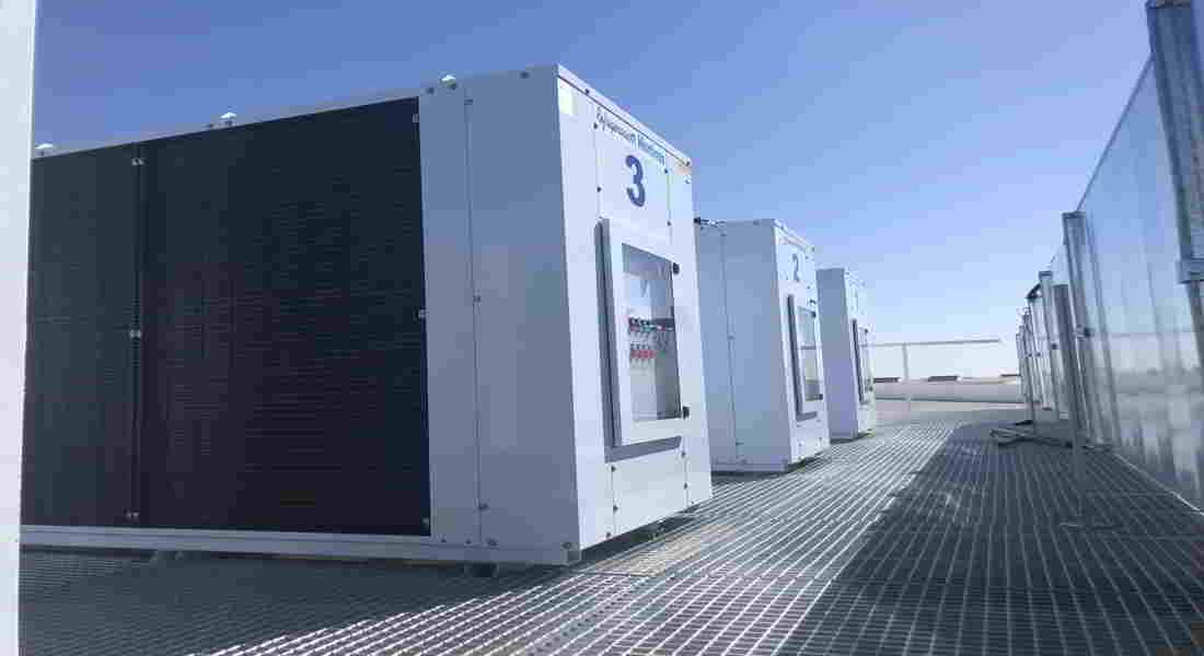 Cuatro condensadoras modelo CU Zanotti instaladas en tejado de empresa aeronáutica Sofitec