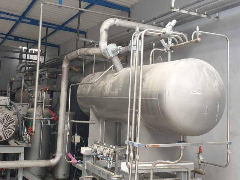Instalación amoniaco de Zanotti Appliance en Dakhla Marruecos