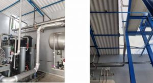 Gran instalación de amoniaco diseñadda por ZanottiAppliance y fabricada por Tewis