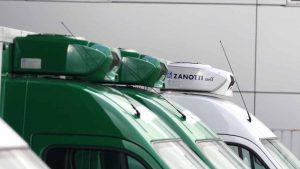 Equipos Z380 multitemperatura en furgonetas de Mercadona